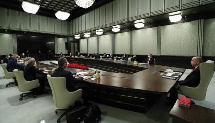 أردوغان في اجتماع مغلق مع حكومته.. وكارثة كورونا على رأس جدول الأعمال