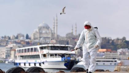 لليوم العاشر على التوالي.. «كورونا» يفتك بالأتراك ويسجل نحو 32 ألف إصابة