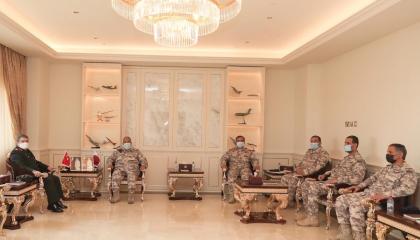 لقاء عسكري تركي قطري في الدوحة لتعزيز التعاون المشترك