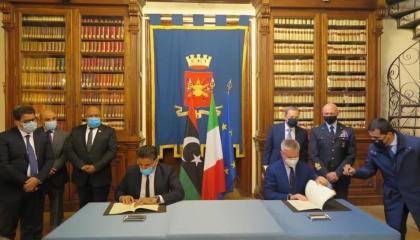 «الوفاق» الليبية توقِّع اتفاقية للدفاع المشترك مع إيطاليا
