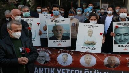 وقفة صامتة لأطباء تركيا مطالبة بإغلاق كامل لأسبوعين لمواجهة كارثة كورونا