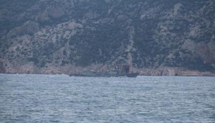 بالصور: تركيا تجري تدريبات بحرية على إطلاق النيران في شرق المتوسط