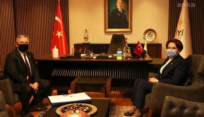 رئيس بلدية أنقرة يزور المرأة الحديدية بعد إعلانها الترشح لرئاسة تركيا