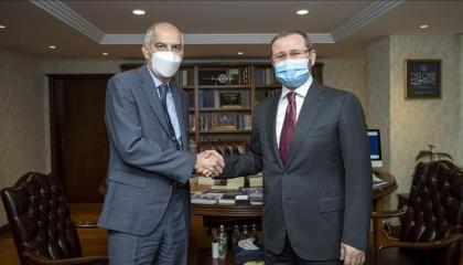 السفير الفرنسي الجديد لدى تركيا يزور مقر وكالة الأناضول