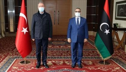 الحكومة الليبية المؤقتة: زيارة وزير الدفاع التركي لطرابلس تأجيج للحرب