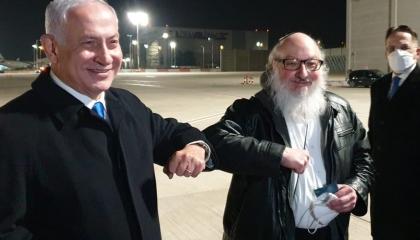 فيديو.. نتنياهو يستقبل أشهر جواسيس إسرائيل بعد سجنه 30 عامًا في أمريكا