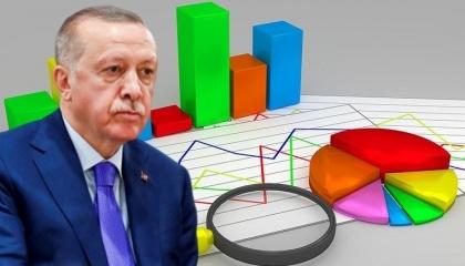 استطلاع رأي: 48 % من الأتراك غير موافقين على سياسات حكم أردوغان