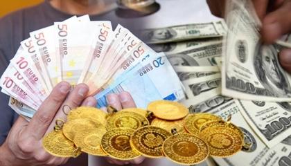 الليرة تنخفض مجددًا أمام الدولار.. وزيادة جديدة في أسعار الذهب