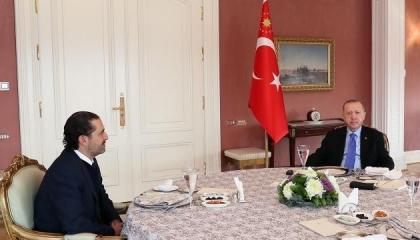 أردوغان يؤكد للحريري استمرار الدعم التركي للحكومة اللبنانية