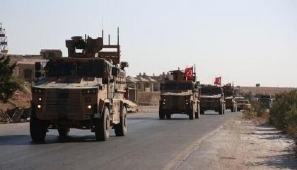 دخول رتل عسكري تركي جديد إلى منطقة خفض التصعيد شمال سوريا