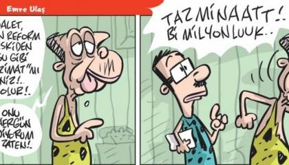 كاريكاتير: المال يحرك أردوغان.. والإصلاح القانوني لا مكان له في تركيا