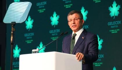 داود أوغلو يتهم أردوغان بالاعتداء على نائب رئيس حزب المستقبل: إرهاب سياسي