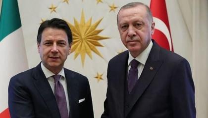 أردوغان يؤكد أهمية العلاقات التركية الإيطالية في اتصال مع كونتي