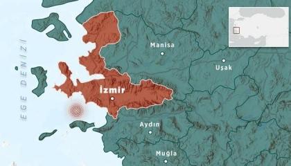 زلزال بقوة 4 ريختر يضرب محافظة إزمير التركية
