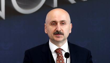 وزير النقل: تركيا تحكم الممرات التجارية في مثلث أوروبا وآسيا وأفريقيا