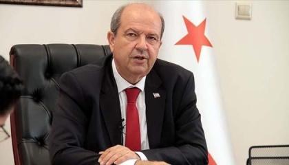 رئيس قبرص المحتلة: نسير على الطريق الصحيح فيما يتعلق بحل الدولتين