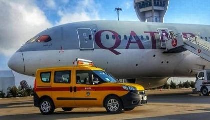 طائرة قطرية تهبط اضطراريًا بمطار تركي بعد إصابة أحد ركابها بـ«كورونا»