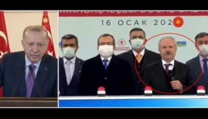 «أعطِ الميكروفون لنوابنا».. أردوغان يصادر كلمة رئيس هيئة الطاقة بحفل مشروعه