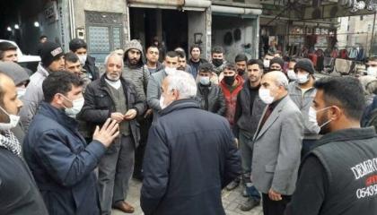 بلدية تابعة لحزب أردوغان تطلب من 50 تاجرًا إخلاء محالهم خلال أسبوعين