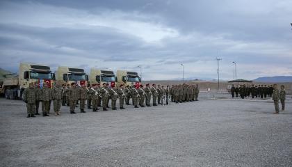 أذربيجان ترسل جنودها إلى تركيا للمشاركة في «التدريب الشتوي 2021»