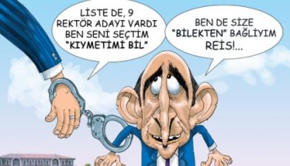 كاريكاتير تركي: مليح بولو.. دمية في يد أردوغان!