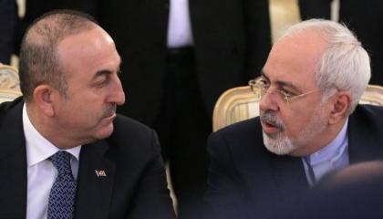 القضايا الإقليمية والثنائية مجري حديث وزيري خارجية تركيا وإيران