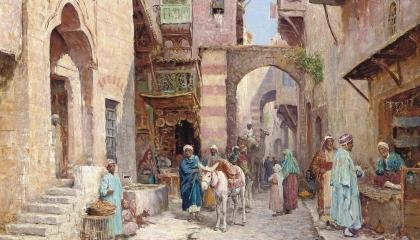 الشوام يحتفلون فرحا بالرغيف: طوابير الخبز في دمشق تحت الحكم العثماني
