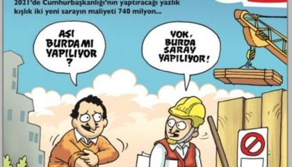 كاريكاتير: في تركيا.. لقاح كورونا خاص بأسياد القصر الرئاسي فقط