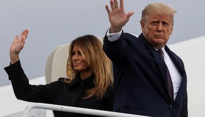 كلمات ترامب الأخيرة: لن يطول غيابي وسأعود للبيت الأبيض قريبًا