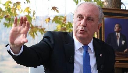 المرشح الرئاسي التركي السابق يكشف عن اسم حزبه الجديد
