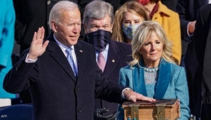 جو بايدن يؤدي القسم رئيسًا للولايات المتحدة الأمريكية
