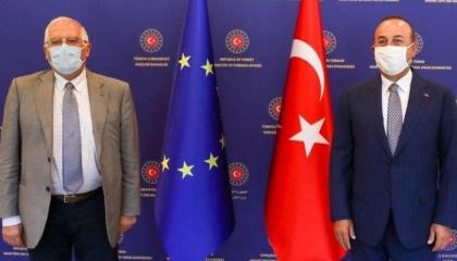 تركيا تدعو إلى خلق جو إيجابي مع الاتحاد الأوروبي