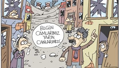 كاريكاتير: الانفجارات تلاحق الأتراك