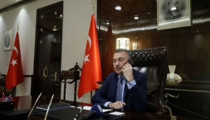 نائب أردوغان ورئيس الوزراء الأذري يبحثان سبل تعزيز العلاقات الثنائية