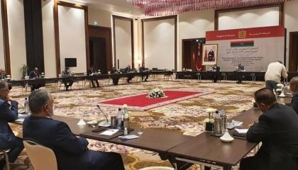 انطلاق أولى اجتماعات لجنة «13+13» الليبية في المغرب