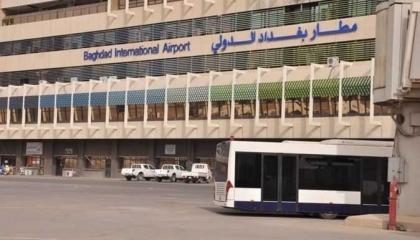 سقوط ثلاث صواريخ بالقرب من مطار بغداد الدولي دون خسائر بشرية