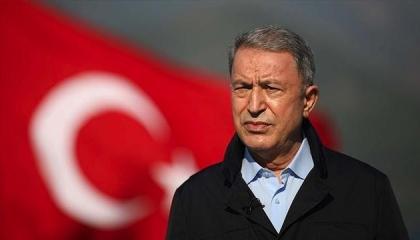 وزير الدفاع التركي: نتوقع الاحترام من جيراننا في المتوسط وبحر إيجة