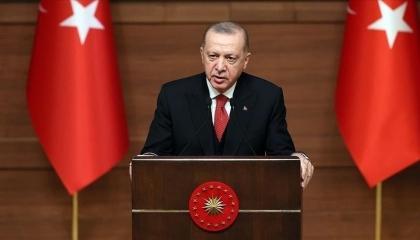 أردوغان: تركيا ضمن أول 4 دول عالميًا في إنتاج الطائرات المسيرة