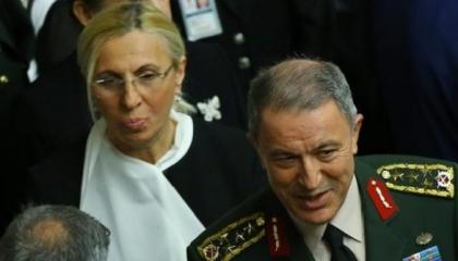 زوجة وزير الدفاع التركي تطلق «فرقاطة إسطنبول» بدلًا من أمينة أردوغان