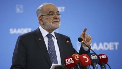 زعيم حزب السعادة التركي ينعي البحار القتيل على السفينة المختطفة