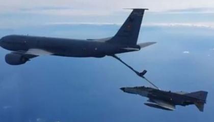 طائرات تجسس تركية تخترق المجال الجوي اليوناني 31 مرة