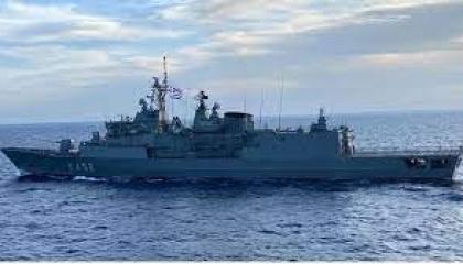تدريبات بحرية مشتركة بين مصر واليونان في البحر المتوسط