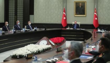 مجلس الأمن القومي التركي: سنحمي حقوقنا في بحري إيجة والمتوسط