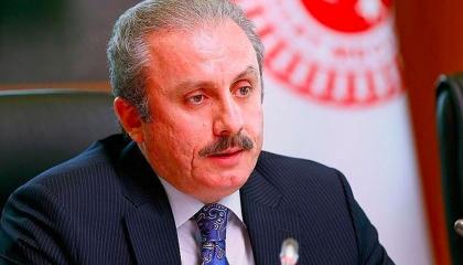رئيس البرلمان التركي: تصريحات أردوغان تعني وضع دستور جديد للبلاد