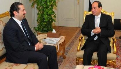 السيسي: مصر تصون مقدرات الشعب اللبناني الشقيق