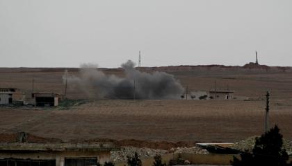 دمشق: الاحتلال التركي يواصل قصف عين عيسى بالمدفعية الثقيلة