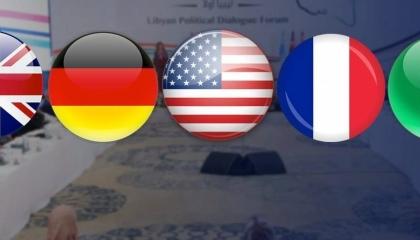فرنسا وألمانيا وإيطاليا وبريطانيا وأمريكا ترحب بالسلطة الجديدة في ليبيا