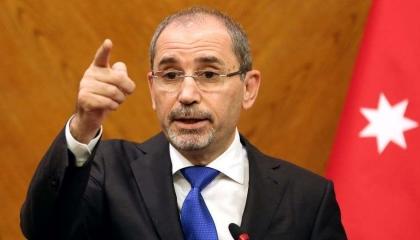 وزير خارجية الأردن: الاحتلال الإسرائيلي ينسف كل فرص السلام العادل والشامل
