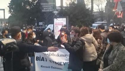 20 شخصًا ينضمون لمعتقلي احتجاجات جامعة بوغازيتشي التركية