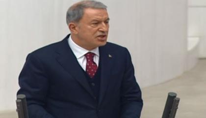 «هل يقصد واشنطن؟».. أكار يتهم حلفاء تركيا بالنصب: دفعنا ثمن أسلحة ولم نتسلم